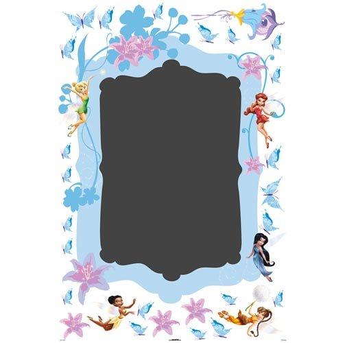 Disney Fairies - Stickers Muraux - Tableau Noir Maxi - Fée Clochette