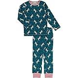 Maxomorra Mädchen Schlafanzug Pyjama Unicorn Dreams (122/128)