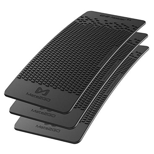 Mate2GO Anti-Rutsch-Armaturenbrett Matte Auto Non-Slip Matte für Handyhalterung, Mobiltelefone, Sonnenbrillen und Schlüssel (3er Pack) - New
