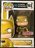 Funko - Figurine DC Heroes - Batman Golden Midas Exclu Pop 10cm - 0889698128179