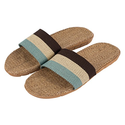 Haisum uomo biancheria all'aperto antiscivolo ciabatte punta aperta lusso pantofole