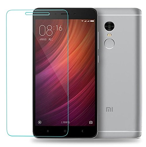 Alex Mobile Redmi Note 4 tempered Glass (Excluding Curved edges)