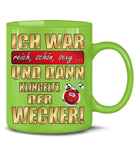 SEXY UND DANN KLINGELTE DER WECKER 4886(Grün) (Lustige Hashtags Für Halloween)