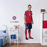 K&L Wandsticker, Wandtattoo, Aufkleber, Poster selbstklebend - FC Bayern - Joshua Kimmich (25x90 cm)