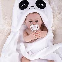 Yesteria Realista Reborn Bebé Niña Silicona Vinilo Entero Desnudo con Manta Blanca 45 cm