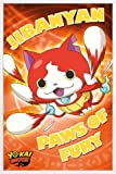 1art1 Yo-Kai Watch Poster Cadre (Plastique) - Paws of Fury (91 x 61cm)