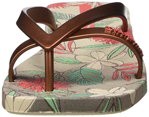 Ipanema Kirey Iii Fem, Tongs femme Multicolore - Mehrfarbig (beige bronze red 8437)