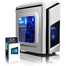 VIBOX Killstreak GS730-220 Gaming PC Ordenador de sobremesa con Cupón de juego, Windows 10 OS (4,2GHz Intel i7 Quad-Core Procesador, Nvidia GeForce GT 730 Tarjeta Grafica, 8GB DDR4 RAM, 2TB HDD)
