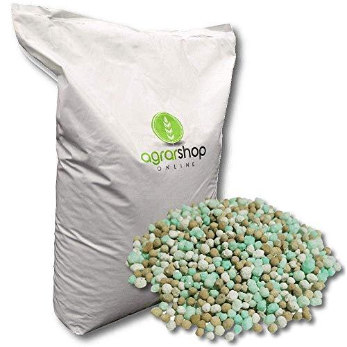Rasendünger Premium 25 kg Langzeitwirkung Langzeitrasendünger 3 Monate Universal