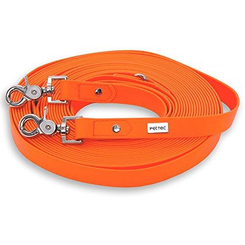 linea-guida-10m-di-pettec-fatta-di-trioflextm-arancione-impermeabile-guinzaglio-robusto