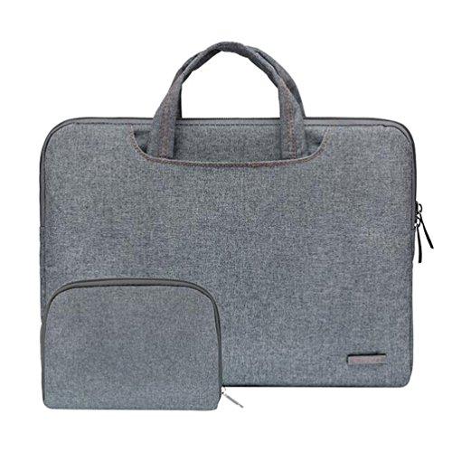 Baymate Laptop Aktentasche Laptoptasche 11.6 -15.6 Zoll Notebooktasche Schutzhülle Hülle Case mit Griff Stil4 13.3 Zoll (33.5*23.5*3cm)