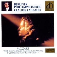 Abbado Golden Label: Posthornserenad, Märsche, Nannerl Septet