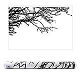 webest House Wandbild AST PVC Abnehmbare Room Art Wandbild Wandtattoo (schwarz Baum Ast)