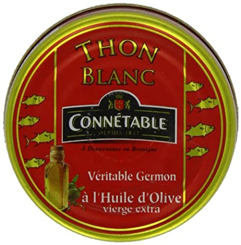 Connetable White Albacore Tuna In Extra Virgin Olive Oil 80 g