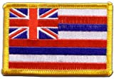 Flaggen Aufnäher USA Hawaii Fahne Patch + gratis