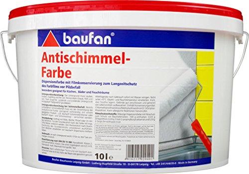 Baufan Anti-Schimmelfarbe 10 Liter
