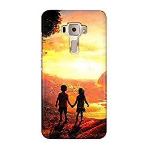 CrazyInk Premium 3D Back Cover for Asus Zenfone 3 5.2inch - Little Love