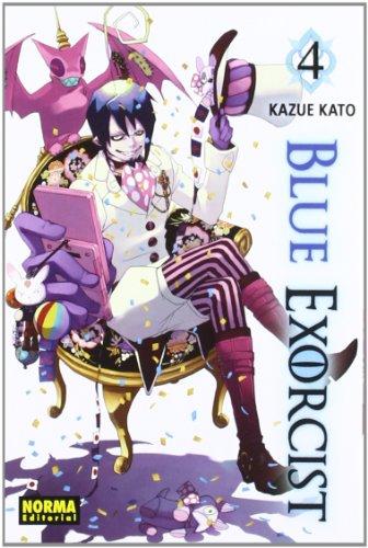 Blue Exorcist 4 (Shonen - Blue Exorcist) por Kazue Kato