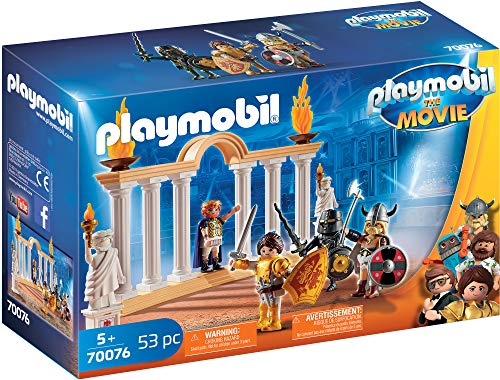 Playmobil - THE MOVIE Emperador Maximus Coliseo 70076