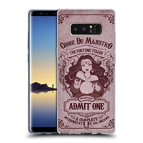 Head Case Designs Wahrsagerin Karte Soft Gel Hülle für Samsung Galaxy Note8 / Note 8