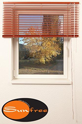 Preisvergleich Produktbild Jalousie ALU Breite 140 x Höhe 175 cm,  terra,  Sonnenschutz