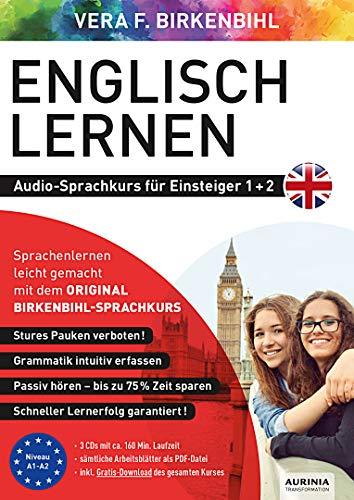 Englisch lernen für Einsteiger 1+2 (ORIGINAL BIRKENBIHL): Audio-Sprachkurs auf 3 CDs inkl. Download