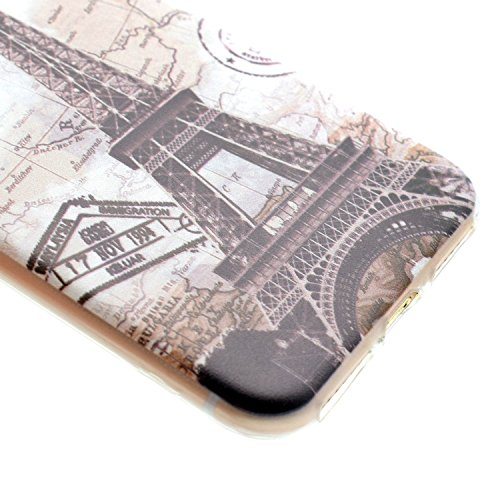 iPhone 7 Bling Coque,iPhone 7 Transparente Coque,iPhone 7 Silicone Coque,iPhone 7 Bling Diamant Cœur Etui Housse Coque,iPhone 7 Clear Coque,EMAXELERS iPhone 7 4.7 Pouce Souple Soft Gel Transparent TPU Dandelion Lover 6