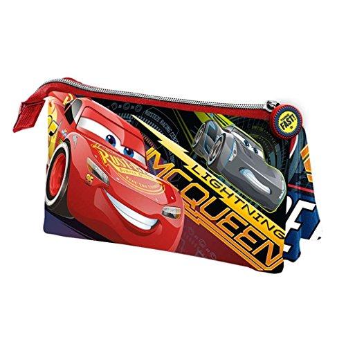 Karactermania Cars 3 Race Estuches, 24 cm, Rojo