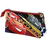 Karactermania Cars 3 Race Estuches, 24 cm, Rojo