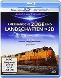 Amerikanische Züge und Landschaften in 3D [3D Blu-ray]