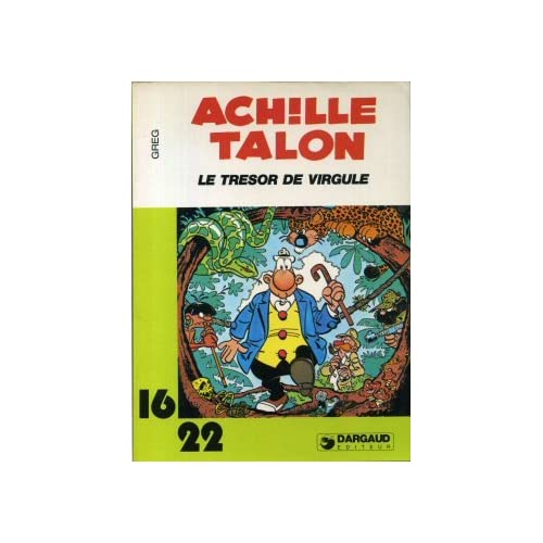 Le Trésor de Virgule (Achille Talon...)