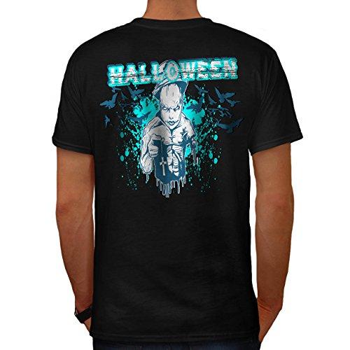 Halloween Horror Kult schaurig Dämon Herren S T-shirt Zurück | (Kult Halloween Kostüm Ideen)