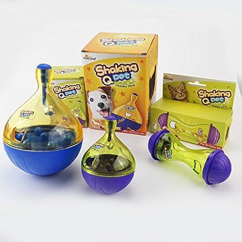 XJoel Toy sfera ricaricabile alimentari Formazione Giocattoli IQ Ossequi del cane trattare sfera di divertimento Alimentatore per il