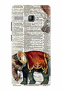 Noise Printed Back Cover Case for Intex Aqua 3G Strong