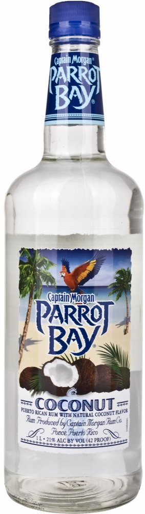 Captain Morgan Parrot Bay Coconut  Rum (1 x 1 l)