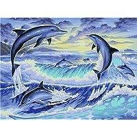 Ravensburger Malen Nach Zahlen Delfine Mal Set Malvorlage