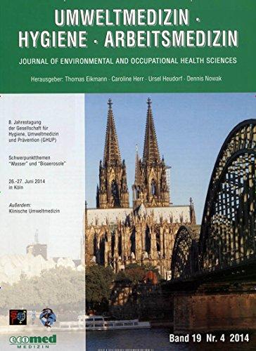 Umweltmedizin Hygiene Arbeitsmedizin [Jahresabo]