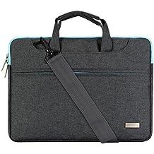 MOSISO Poliestere Laptop Spalla Borsa Valigetta Custodia Manica Cover per