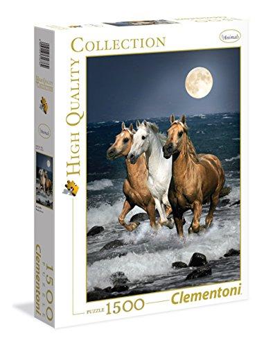 Clementoni - 31676.2 - Puzzle - Cavalli in corsa - 1500 Pièces