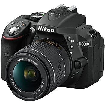 Nikon D5300 Kit AF-P 18-55 + AF-P 70-300 non-VR: Amazon.es ...