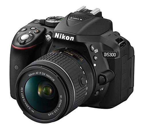 Nikon D5300 Fotocamera reflex digitale con obiettivo singolo,...