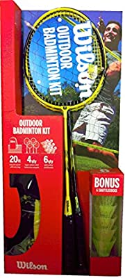 Ensemble Badminton Wilson Premium Quality 4 Player (Ready Boxed)