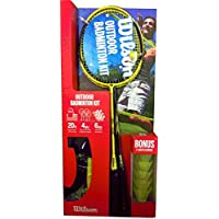 Wilson Premium Quality 4 Player ( Ready Boxed ) Badminton Set