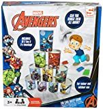 Marvel Avengers Children Tin Can Alley Game For Indoor And outdoor toys | 10 Tin Cans And 3 Bean Bags Included | Fun Family Garden Game For Kids With Captain, Hulk and Iron Man