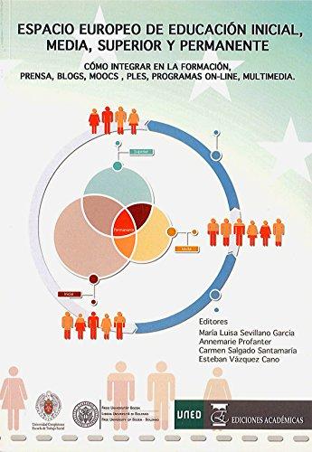 ESPACIO EUROPEO DE EDUCACIÓN INICIAL, MEDIA, SUPERIOR Y PERMANENTE por MARÍA LUISA SEVILLANO GARCÍA