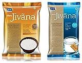 #6: Jivana Classic Sugar and Refined Iodized Salt, 2 kg (Combo of 2)