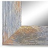 Online Galerie Bingold Spiegel Wandspiegel Badspiegel Flurspiegel Garderobenspiegel - Über 200 Größen - Capri Grau 5,8 - Größe des Spiegelglases 50 x 80 - Wunschmaße auf Anfrage - Modern