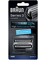 Braun Part 32B Shaver Replacement, Black