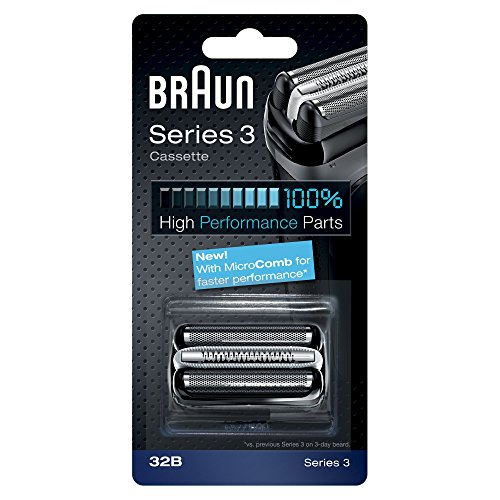 Braun Part 32B Shaver Replacement, Black