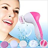 Face Massager, Facial Scrubber Skin Care 5 in 1